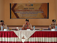 Kwartir cabang gerakan Pramuka kabupaten Ponorogo adakan kursus pengelolaan kwartir(KPK) di gedung Cadika