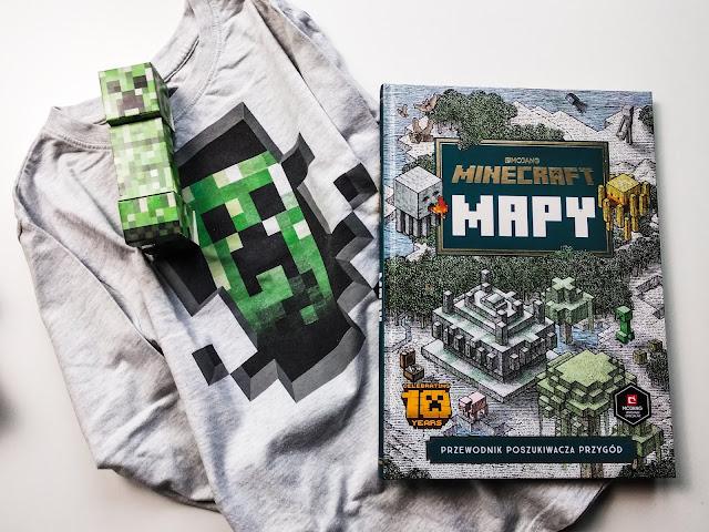 Okiem Żywiciela: Czytałeś nowego Minecraft'a? Pomysł na prezent dla 7 - 10 latka