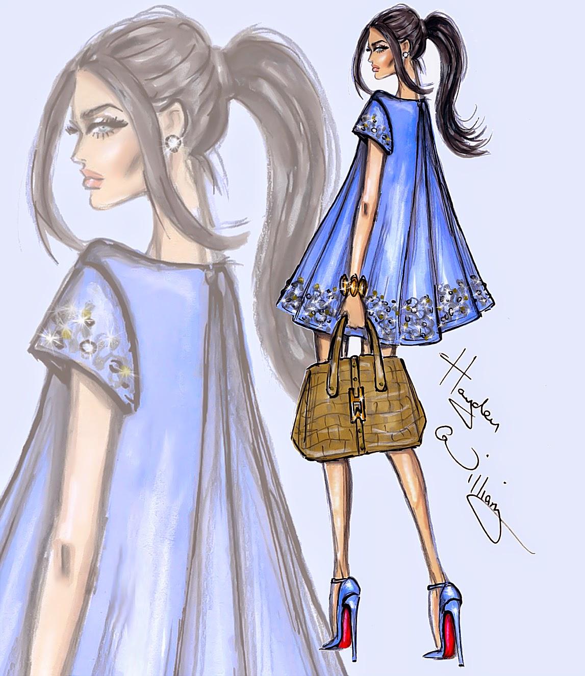 Hayden Williams Fashion Illustrations: August 2014