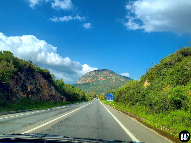 Mountains by the road | Sardinia, Italy | wayamaya