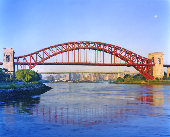 The Hell Gate Bridge of New York