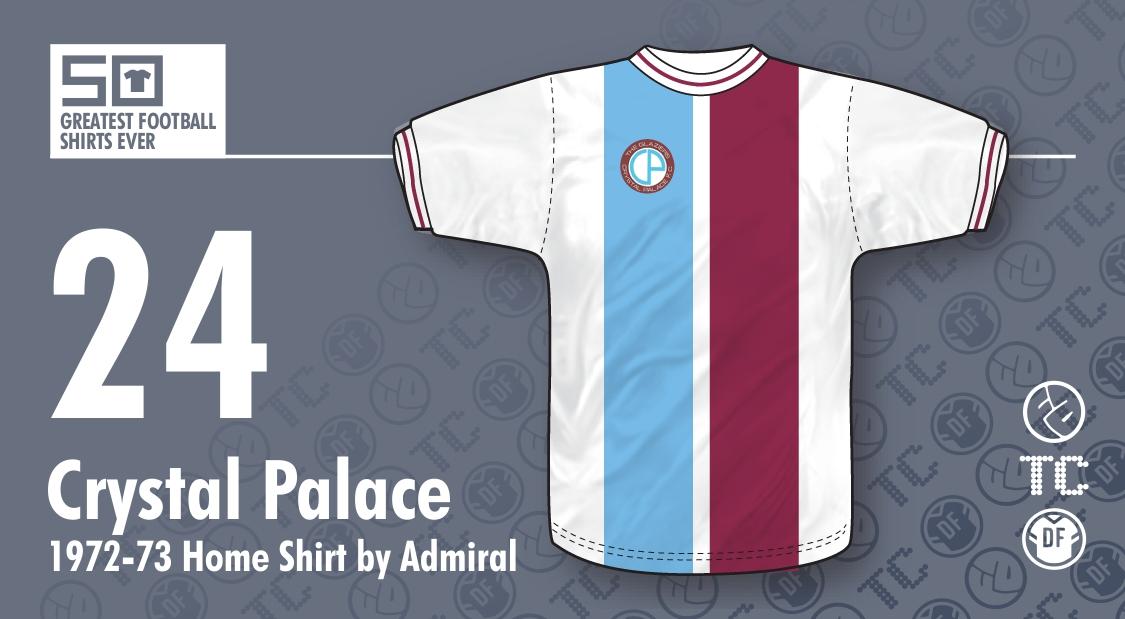 The 50 Greatest Football Shirts Ever   24 - Crystal Palace 1972-73 ... c519de282