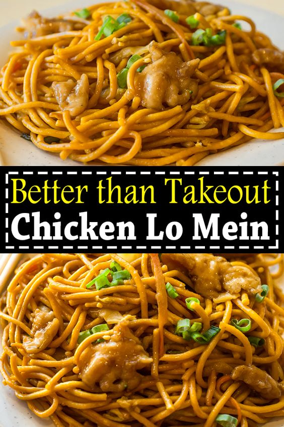 Chicken Lo Mein – Easy Homemade Chicken Lo Mein Recipe #recipes #chineserecipes #food #foodporn #healthy #yummy #instafood #foodie #delicious #dinner #breakfast #dessert #lunch #vegan #cake #eatclean #homemade #diet #healthyfood #cleaneating #foodstagram