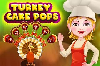 العاب طبخ 2017 - لعبة Turkey Cake Pops
