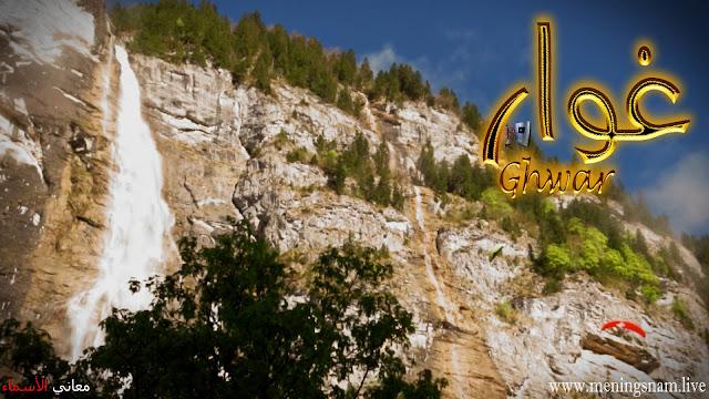 معنى اسم غوار وصفات حامل هذا الاسم Ghwar