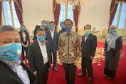 Perkenalkan Partai ke Presiden, Petinggi Partai Gelora Berkunjung ke Istana Negara