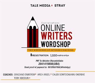 Register for online writers wordshop