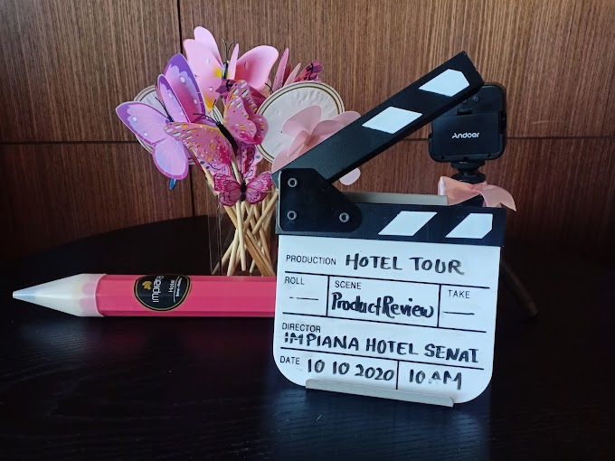 JDT Blogger - Hotel Tour and Product Review