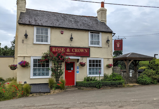 The Rose & Crown at Trowley Bottom