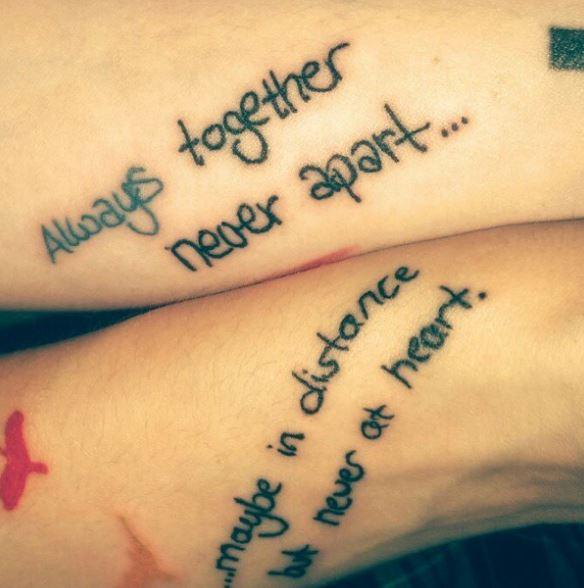 Girls Best Friend Tattoos: 250+ Matching Best Friend Tattoos For Boy And Girl (2020