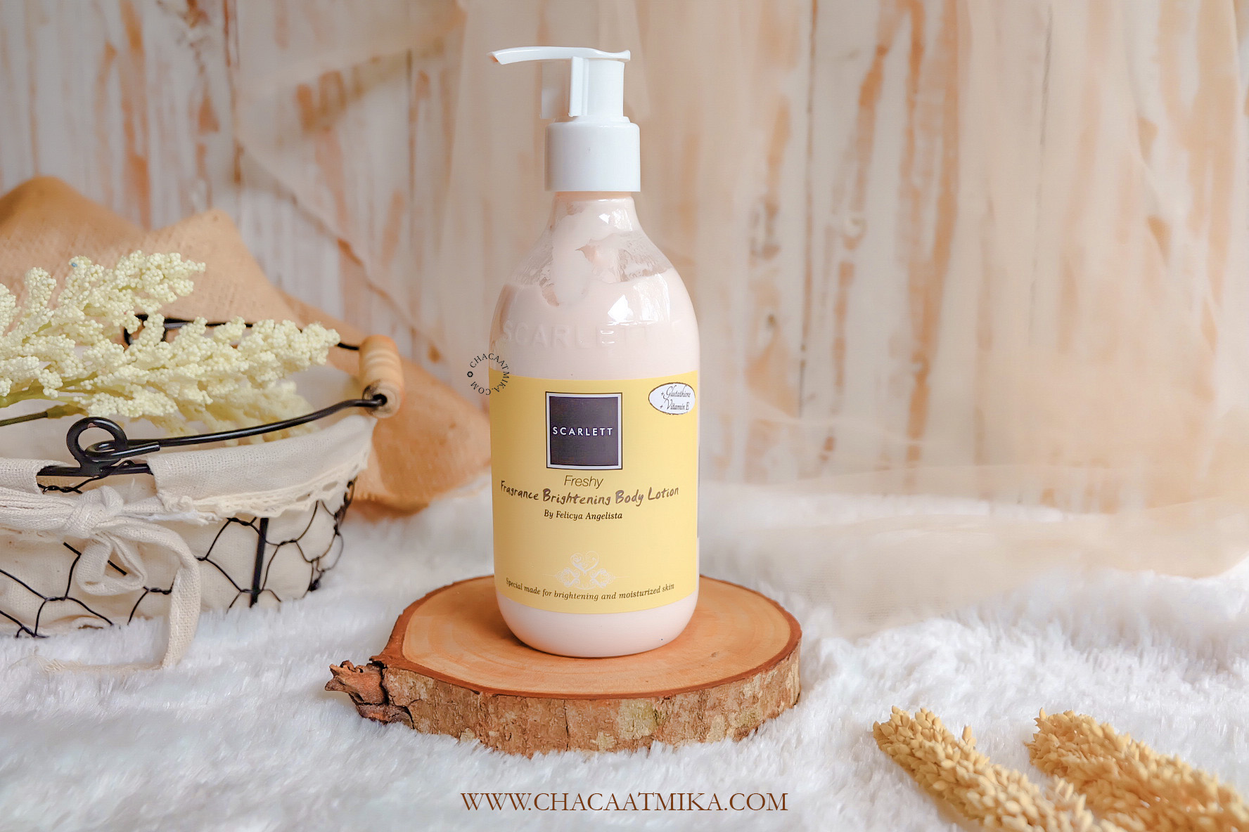 Review Scarlett Whitening Body Lotion