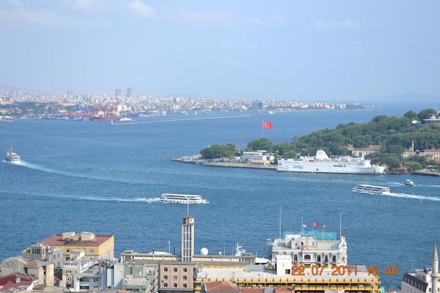 Istambul Turquia - Estreito do Bósforo
