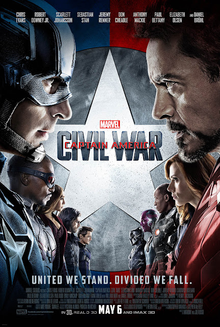 Captain America Civil War recensione poster