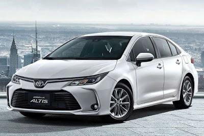 Review Toyota Altus Terbaru 2019