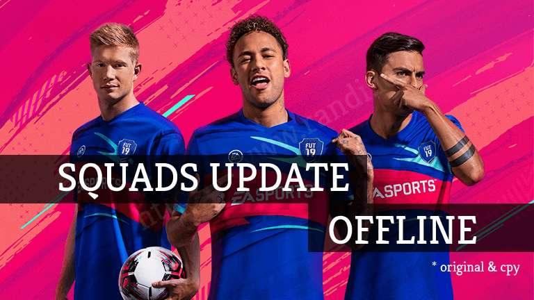 Download FIFA 19 Rosters Update