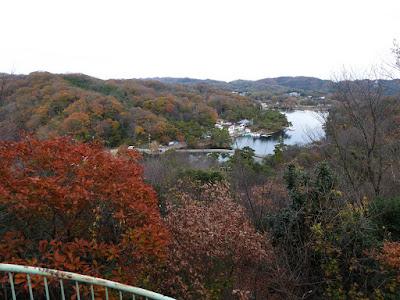 くろんど池 展望台からの眺望