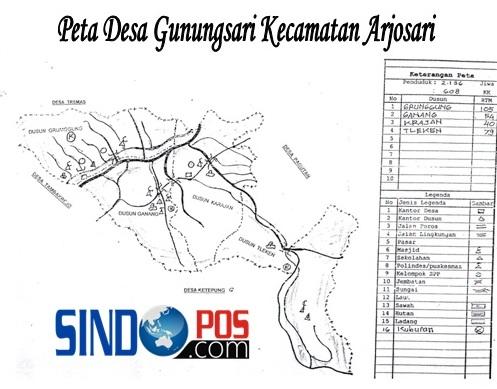 Profil Desa & Kelurahan, Desa Gunungsari Kecamatan Arjosari Kabupaten Pacitan