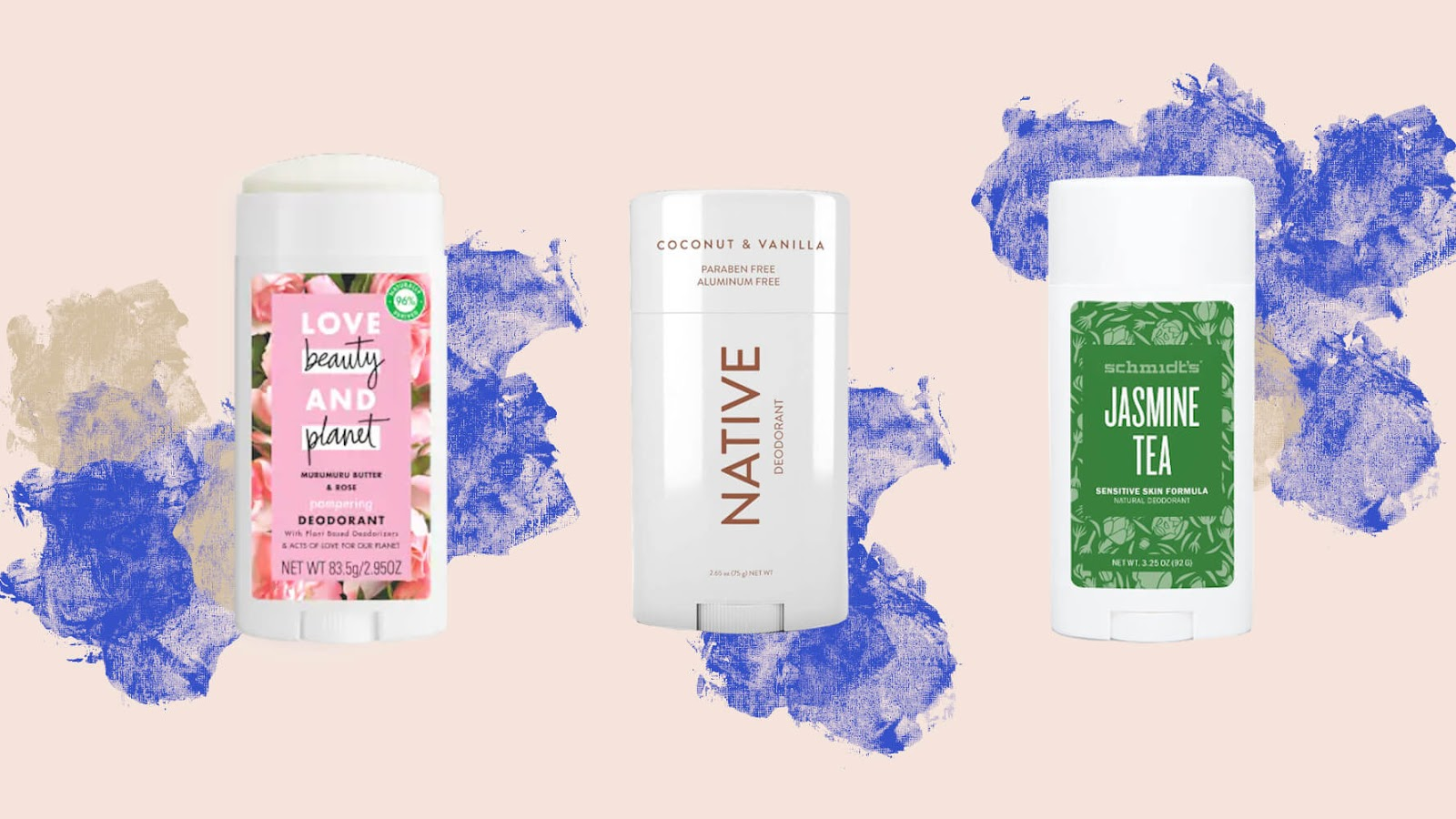 Three Popular Natural Deodorant Brands