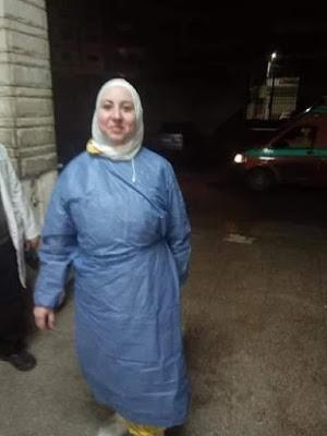 شاهد صورة الطبيبة التي رفض أهالي قريتين دفنها عقب وفاتها نتيجة إصابتها بفيروس كورونا