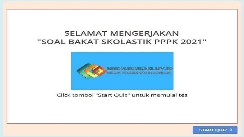 Soal Bakat Skolastik PPPK 2021