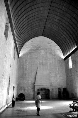 Il Grande Tinello del Palazzo dei Papi di Avignone