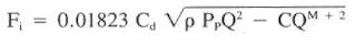 impact force (Fi)