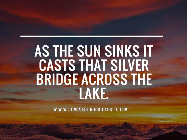 Lake Scenery Quotes