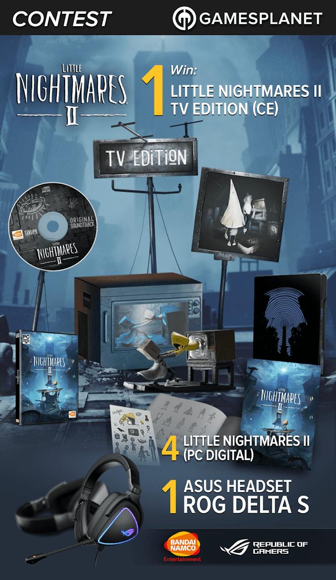 Sorteio Little Nightmares II (Collector's TV Edition) + Headset ASUS Rog Delta