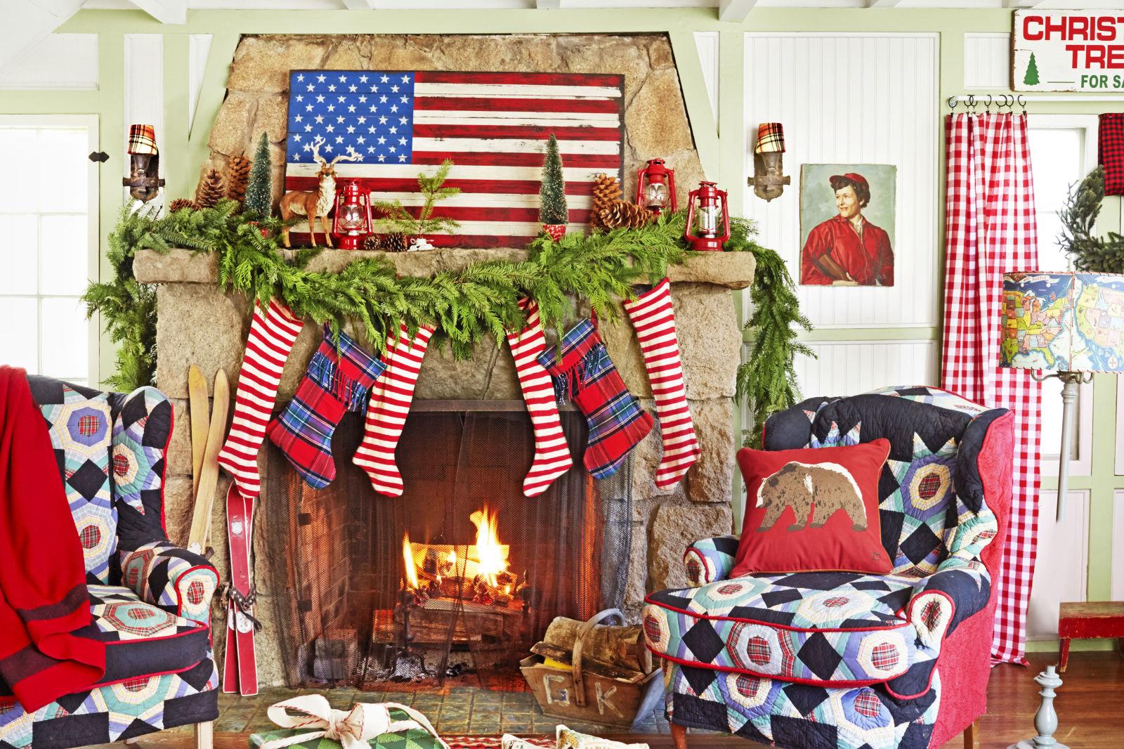 ideas para decorar interiores en Navidad