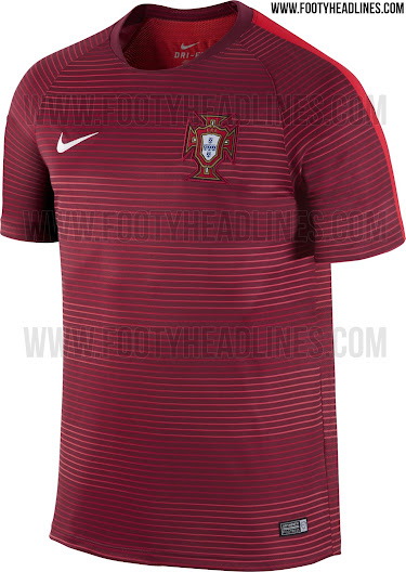 8d89a8c04 Outstanding Portugal Euro 2016 Pre-Match and Training Shirts Leaked ...