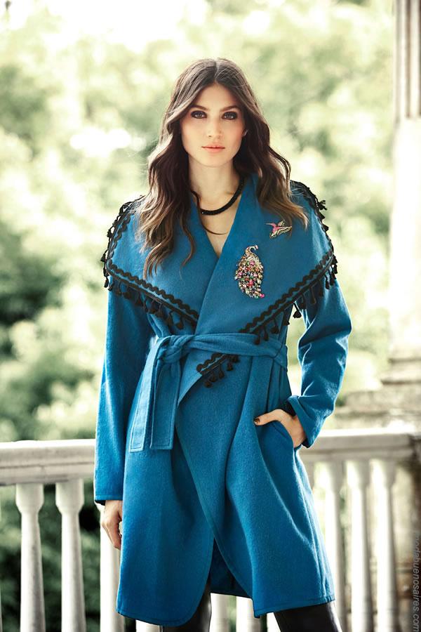 Tapados invierno 2017 ropa moda mujer. Tapados 2017 invierno abrigos mujer.