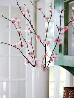 Kağıt Peçeteden Bahar Dalı Yapımı