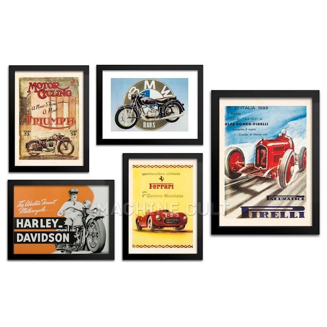 Veja no blog algumas opções de presentes para o Dia dos Pais na loja da Machine Cult, se o seu pai é fã de motos e carros ele vai adorar as sugestões de miniaturas de carros e motos, saiba mais no blog.