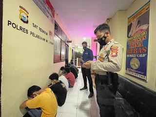 Amankan 8 Remaja Terlibat Tawuran di Barukang, Polres Pelabuhan Makassar Tingkatkan Patroli dan Cipkon