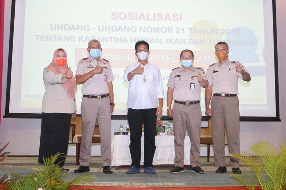 Walikota Batam Buka Sosialisasi Undang-Undang Nomor 21 Tahun 2019