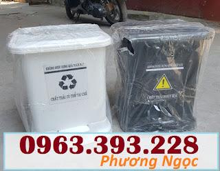 Thùng đựng rác thải y tế đạp chân 25 Lít, thùng rác y tế đạp chân TR%25C4%2590C25L6