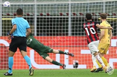 ملخص واهداف مباراة ميلان وجليمت (3-2) الدوري الاوروبي