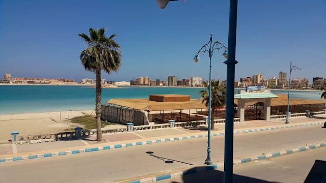 كورنيش مدينة مرسى مطروح Marsa Matrouh