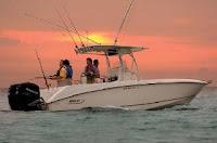 Foto de um Barco de pesca