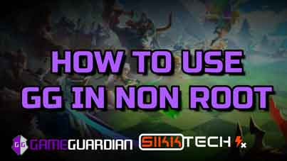 how to use game guardian in non root