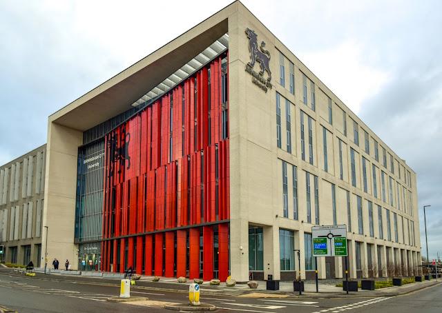 Curzon Building, Birmingham City University 2021
