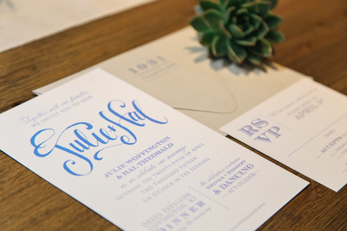 Garden Wedding Invitations: MargotMadison: Julie's Outdoor Wedding Invitations