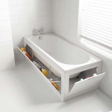 GREAT IDEAS FOR EFFICIENT BATHROOM STORAGE