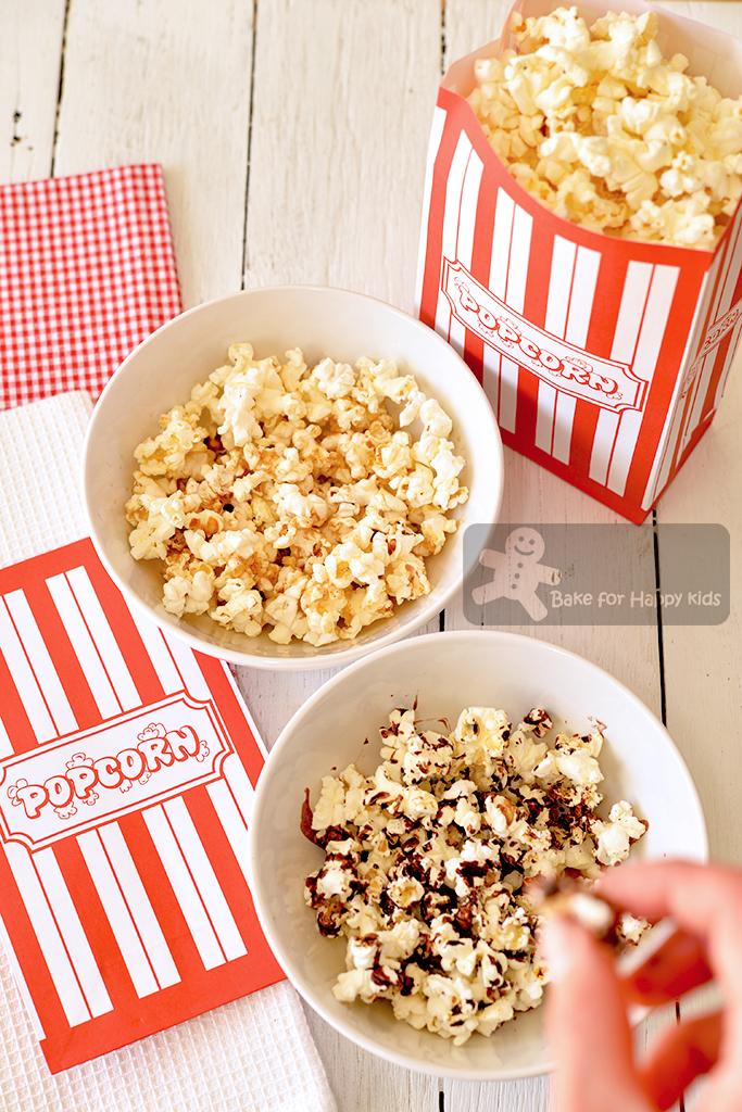 how to make low fat popcorn
