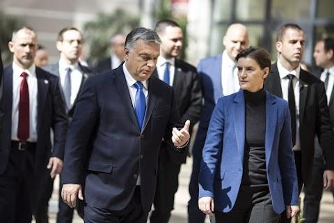 Orbán: a balkáni migrációs útvonal megváltozása közös magyar és szerb siker