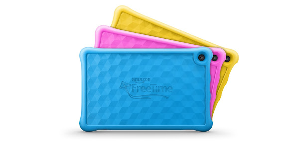 Amazon Fire HD 10 Kids Edition colors