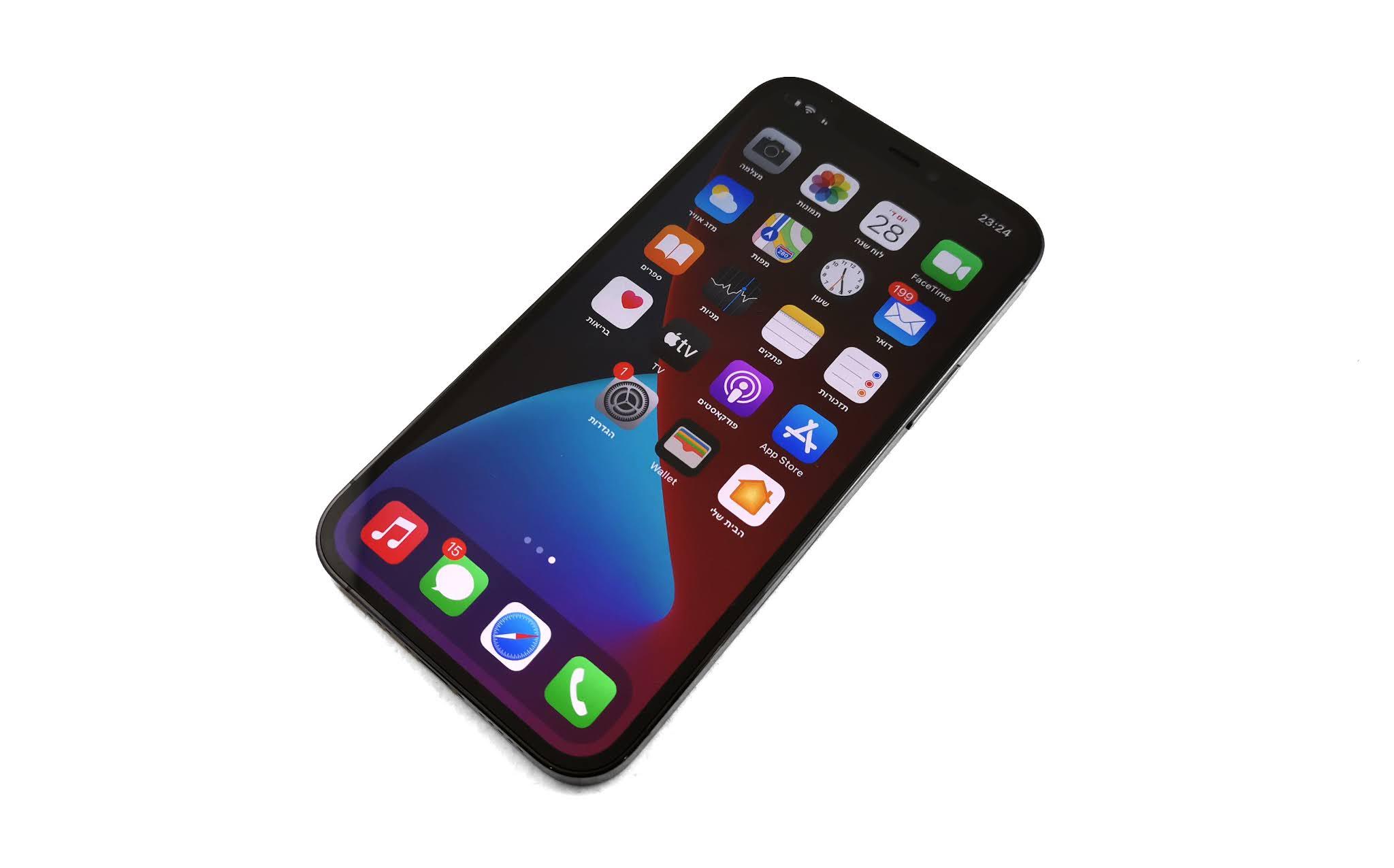 כזה ניסיתי: Apple iPhone 12 Pro