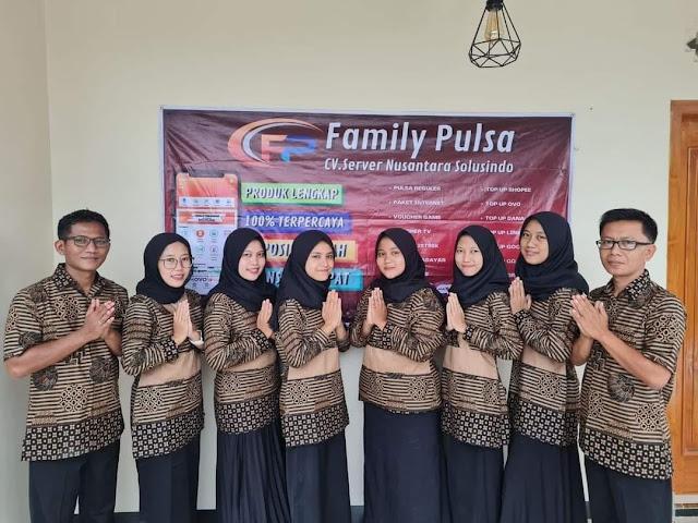Family Pulsa Agen Pulsa Murah Terpercaya 2021