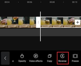 reverse a copy video