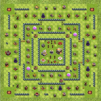 War Base Town Hall Level 11 By adilahmads (Adil ahmad TH 11 Layout)